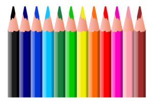 Zoom-Colored Pencil Party