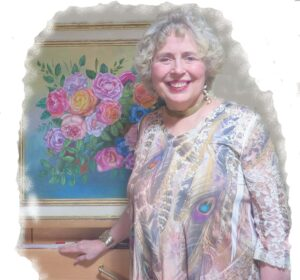 Contemporary Floral Painting Course-Classroom